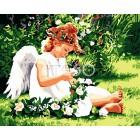 Нежный ангел Раскраска по номерам акриловыми красками на холсте Iteso