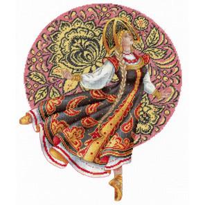 Русские традиции. Хохлома Набор для вышивания МП Студия НВ-664