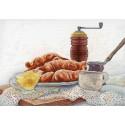 Французский завтрак Набор для вышивания МП Студия НВ-655