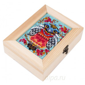 Символ удачи Набор для вышивания и декора шкатулки МАТРЕНИН ПОСАД 12009