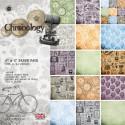 Chronology Набор бумаги 15x15 для скрапбукинга, кардмейкинга Docrafts