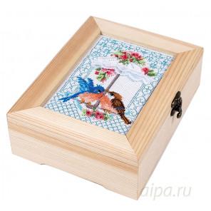 Погода в доме Набор для вышивания и декора шкатулки МАТРЕНИН ПОСАД 12012
