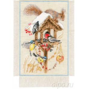 Дача. Зима Набор для вышивания Риолис 1751