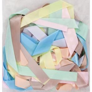 Ассорти Spots & Stripes Pastels набор Ленты для скрапбукинга, кардмейкинга Docrafts