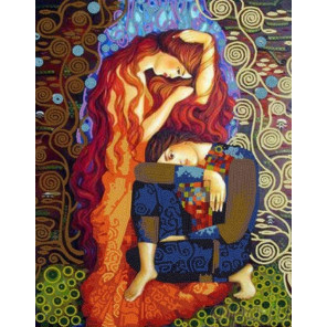Свидание Канва с рисунком для вышивки бисером Конек 8478