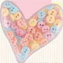 Spots & Stripes Pastels Пуговицы Docrafts