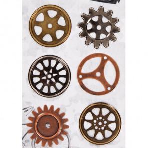 Механизм Набор металлических элементов для скрапбукинга, кардмейкинга Docrafts