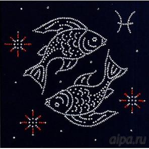 Рыбы. Гороскоп Набор для вышивки бисером Магия канвы БГ-002