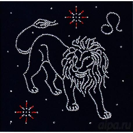 Лев. Гороскоп Набор для вышивки бисером Магия канвы БГ-008