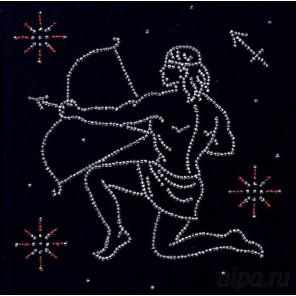 Стрелец. Гороскоп Набор для вышивки бисером Магия канвы БГ-012