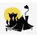 Влюбленные коты №4 Набор для вышивания Овен 405