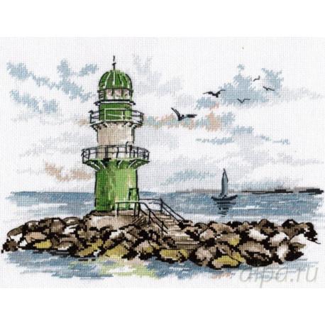 Страж морских путей Набор для вышивания Овен 990