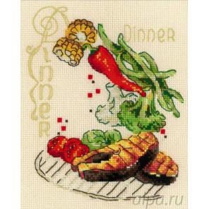 Обед Набор для вышивания Риолис 1686