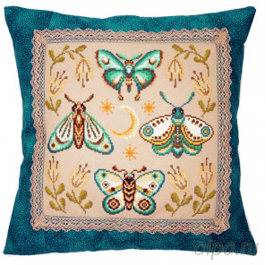 Крылатые цветы Набор для вышивания Марья Искусница