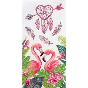 Птицы заката Набор для вышивания Марья Искусница