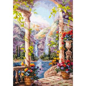 На острове мечты Набор для вышивания Чудесная игла 44-21