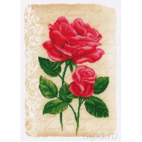 Розы любви Набор для вышивания Vervaco PN-0014989