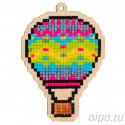 Воздушный шар Алмазная мозаика подвеска Гранни Wood W0251