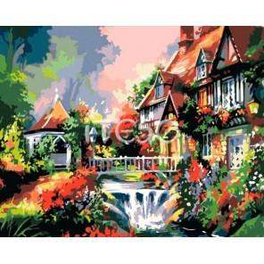 Уютный уголок Раскраска по номерам акриловыми красками на холсте Iteso
