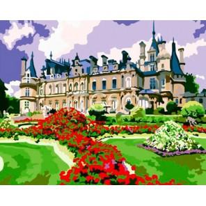 Старинный замок Раскраска по номерам акриловыми красками на холсте Iteso