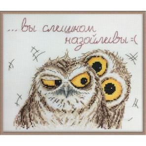Эмоции совуль Набор для вышивания Марья Искусница 15.002.03