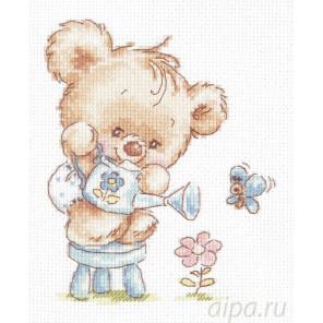 Мой цветочек! Набор для вышивания Чудесная игла 17-17