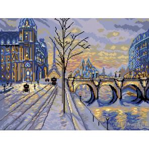 Виды Парижа Набор для вышивания Матренин посад