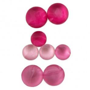 Круглые розовые 215 Стразы набор Decopatch