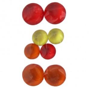Круглые оранжевые 217 Стразы набор Decopatch