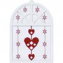 Сердца Набор для вышивания Permin