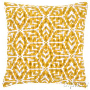 В рамке Геометрический дизайн Набор для вышивания подушки Vervaco PN-0166924