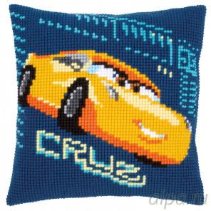В рамке Круз (Disney) Набор для вышивания подушки Vervaco PN-0166448