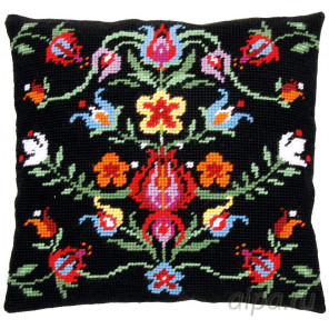 В рамке Фольклер Набор для вышивания подушки Vervaco PN-0168251
