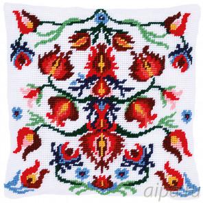 В рамке Фольклер Набор для вышивания подушки Vervaco PN-0168442