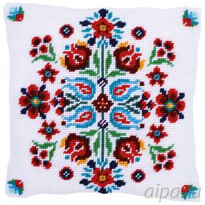 В рамке Фольклер Набор для вышивания подушки Vervaco PN-0168199