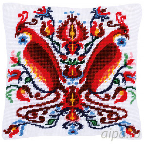 В рамке Феликс Набор для вышивания подушки Vervaco PN-0168344