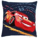 В рамке Молния Маккуин (Disney) Набор для вышивания подушки Vervaco PN-0166441