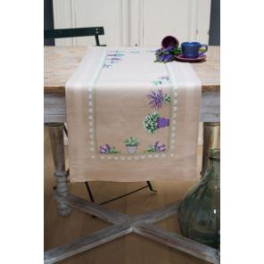 В рамке Лаванда Набор для вышивания дорожки Vervaco PN-0165726