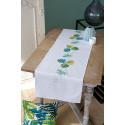 В рамке Ботанические листья Набор для вышивания дорожки Vervaco PN-0165756