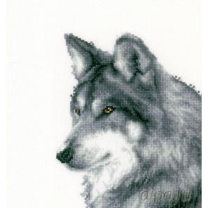 В рамке Волк Набор для вышивания Vervaco PN-0149789