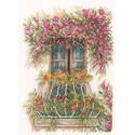 Flower balcony Набор для вышивания LanArte PN-0171411