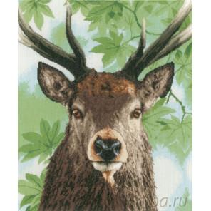 Proud red deer Набор для вышивания LanArte PN-0168208