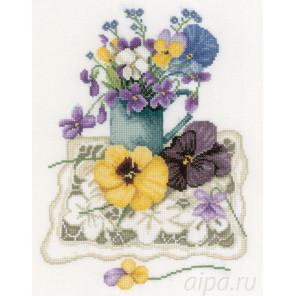 Violets Набор для вышивания LanArte PN-0170951