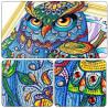 Задумчивый взгляд совы Алмазная мозаика 5D 40x50 5DZX025