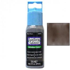 Черный оникс 16095 Витражная краска Gallery Glass