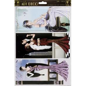 Бродвей Art Deco Набор высеченных элементов для скрапбукинга, кардмейкинга Docrafts