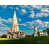 Коломенское. Церковь вознесения Раскраска картина по номерам на холсте ZX 21305