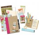 Pink Folio Смэшбук блокнот книжка для скрапбукинга Smash K&Company