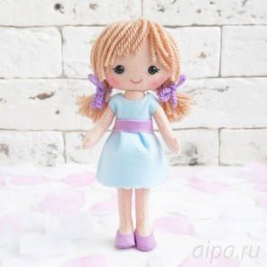 Куколка Катя Набор для создания игрушки своими руками 05-36