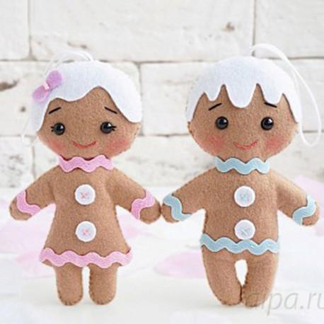 Веселые печеньки Набор для создания игрушки своими руками 05-34